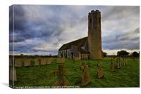 All Saints Church Woodton, Canvas Print