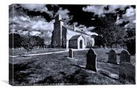 St Peter, Smallburgh., Canvas Print