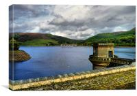 Ladybower Reservoir, Canvas Print