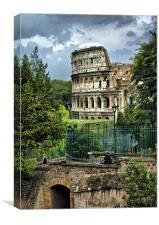 Colosseum Rome, Canvas Print