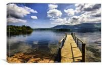 DERWENT WATER FROM HAWSE END, Canvas Print