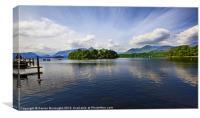 Derwent Water, Canvas Print