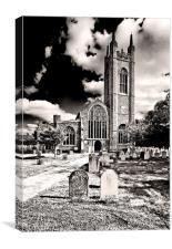 St Marys Church, Bungay, Canvas Print