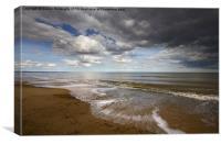 Dunwich Beach Southwold Suffolk, Canvas Print