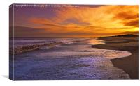 Sunset On Dunwich Beach