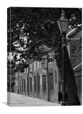 Norwich Cathedral Close Stable Blocks, Canvas Print