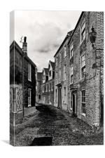Norwich Cathedral Close., Canvas Print