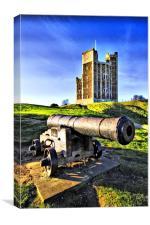 Orford castle, Canvas Print