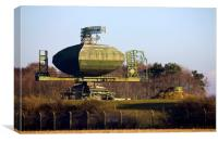 Type 85 Radar at RAF Neatishead, Canvas Print