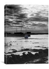 Aldeburgh Yacht Club, Canvas Print
