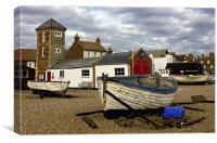 Aldeburgh Boats, Canvas Print