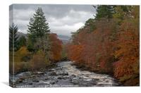 Falls of Dochart, Killin, Canvas Print