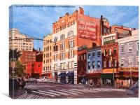 New York City Junction, Canvas Print