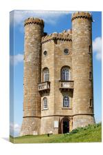 Broadway Tower - Folly in Cotswolds England, Canvas Print