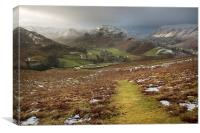 Martindale A Cumbrian Splendor, Canvas Print