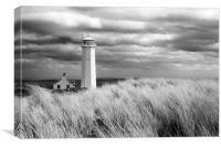 Walney Island Lighthouse, Canvas Print