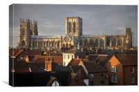 The Cathedral Church of St Peter in York, Canvas Print