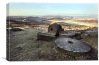 Stanage Edge - Hathersage, Canvas Print