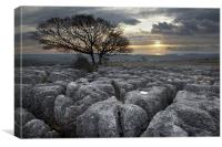End Of The Day - Hutton Roof, Canvas Print