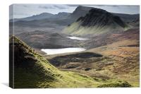 Quiraing - Cleat & Loch Cleat, Canvas Print
