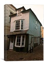 Crooked House Windsor, Canvas Print