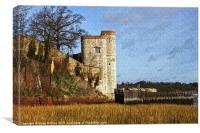 Upnor castle, Canvas Print