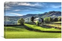 Kentmere Church, Canvas Print