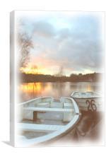 Water colour, Canvas Print