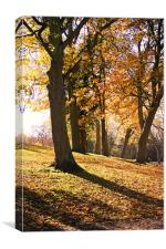 Autumn was here ..., Canvas Print
