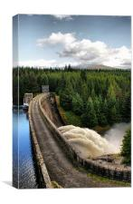 Laggan Dam, Scotland, Canvas Print