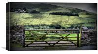 Gateway to Helvellyn - The Lakes, Canvas Print