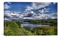 Loch Laggan, Scotland, Canvas Print