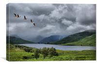 Loch Arklet, Scotland, Canvas Print