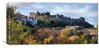 Autumnal Edinburgh Castle, Canvas Print
