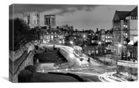 Busy York, Canvas Print