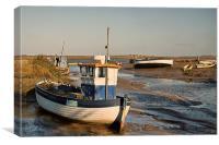Boats, Boats, Boats, Canvas Print