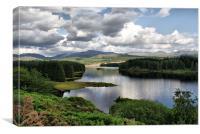 Loch Laggan, Scotland, Canvas Print