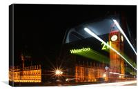 The Waterloo 211 Bus, Canvas Print