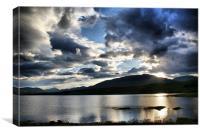 Loch Tulla, Scotland, Canvas Print