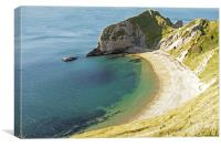Man 'O' War Bay, Dorset, Canvas Print