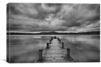 Wooden Jetty at Windermere
