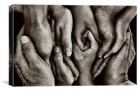 You Need Hands......., Canvas Print