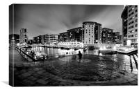 Clarence Dock, Leeds, Canvas Print