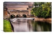Pulteney Bridge, Bath, Canvas Print