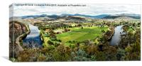 River Derwent Panorama, Canvas Print