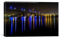 Itchen Bridge, Southampton, Canvas Print