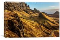 The Quiraing Sunrise II, Canvas Print