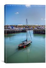 Portpatrick Harbour, Canvas Print