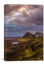 Pastels At The Quiraing, Canvas Print