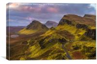 Pastels At The Quiraing II, Canvas Print